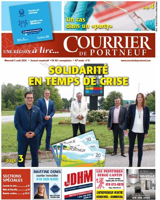 Courrier de Portneuf du 5 août 2020