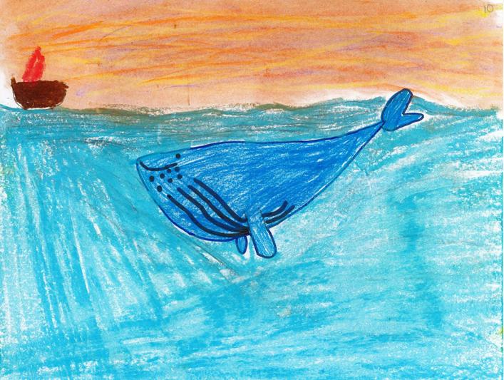 Des dessins de jeunes Pontrougeoises voyagent