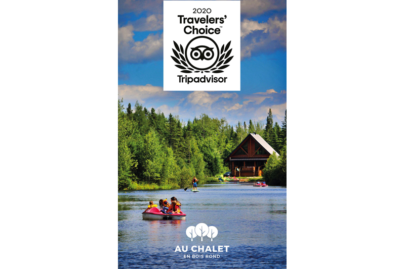 Au Chalet en Bois Rond dans le top 10% de TripAdvisor