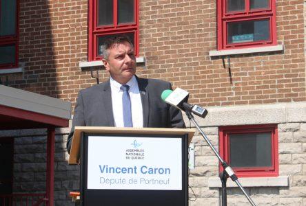 Vincent Caron prévoit cesser ses sorties