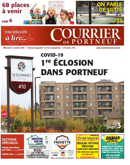 Courrier de Portneuf du 21 octobre 2020