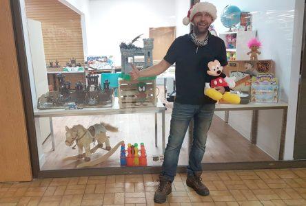 Des jouets à profusion au Kiosque de Noël