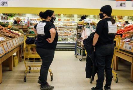 Négos: les profs à l'épicerie