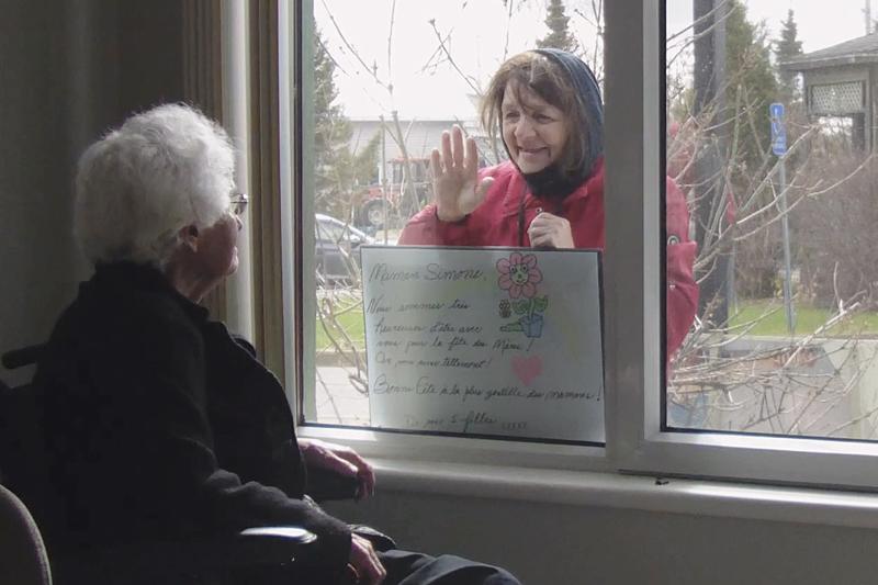 «Jamais je ne t'oublierai»: un témoignage sur la pandémie filmé au CHSLD de Saint-Casimir