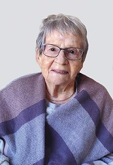 Bérubé, Jeanne Bouchard 1922-2021