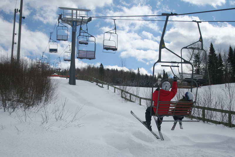 Enfin, du ski à Saint-Raymond!
