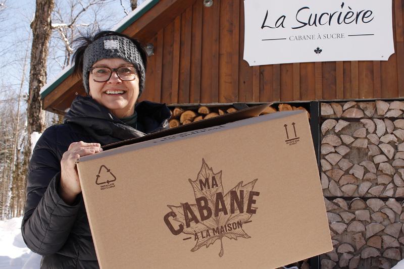 «Ma cabane à la maison»: pour sauver la saison des érablières qui offrent des repas