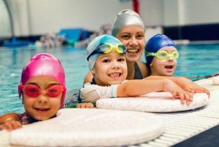 Reprise des cours de natation pour enfants à Pont-Rouge