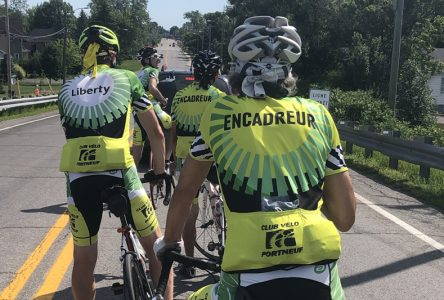 Le Club de vélo Portneuf reprend la route