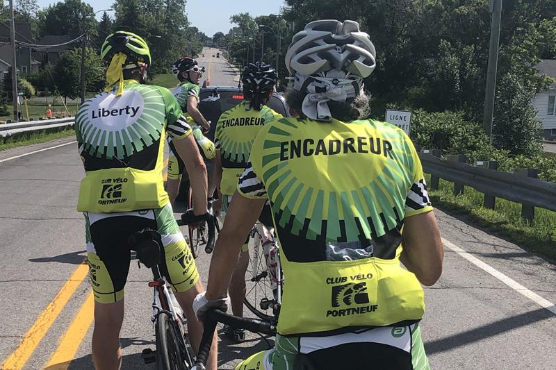 Le Club de vélo Portneuf reprend la route