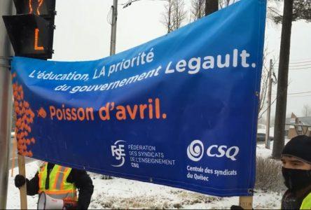 Les profs de Portneuf en grève le 14 avril