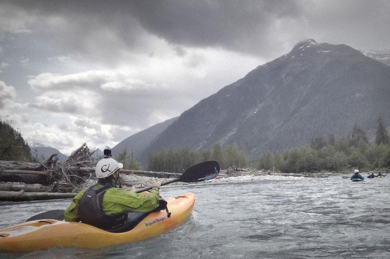 Expédition kayak 2: Billy Thibault en Colombie-Britannique