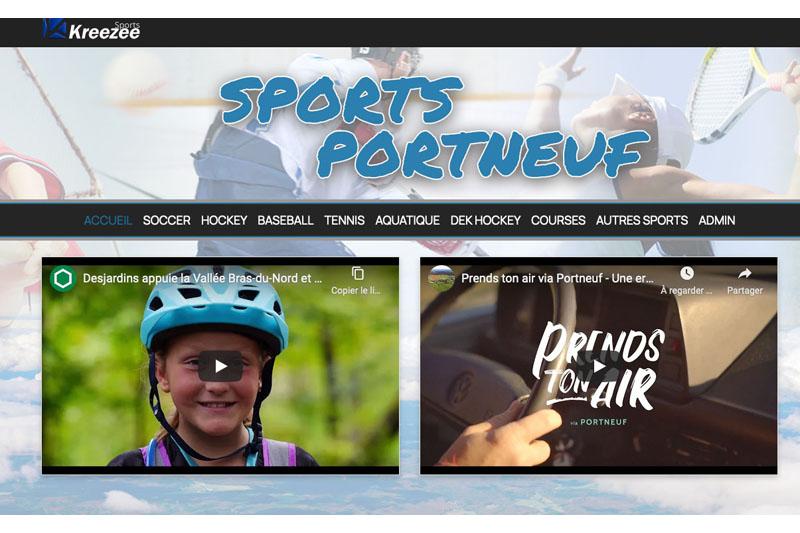 Tout le sport portneuvois réuni dans le Web