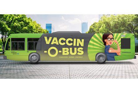 Le Vaccin-O-Bus vient dans Portneuf
