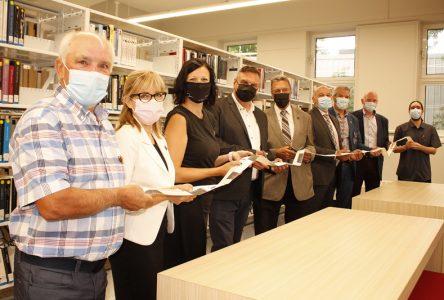 Bibliothèque municipale: Pont-Rouge offre à ses citoyens un nouveau «lieu de vie»