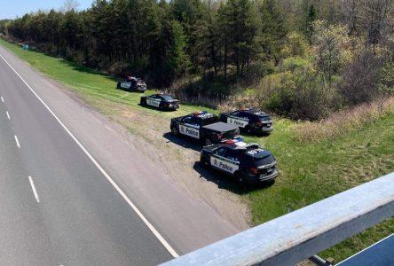 Opération policière contre la vitesse