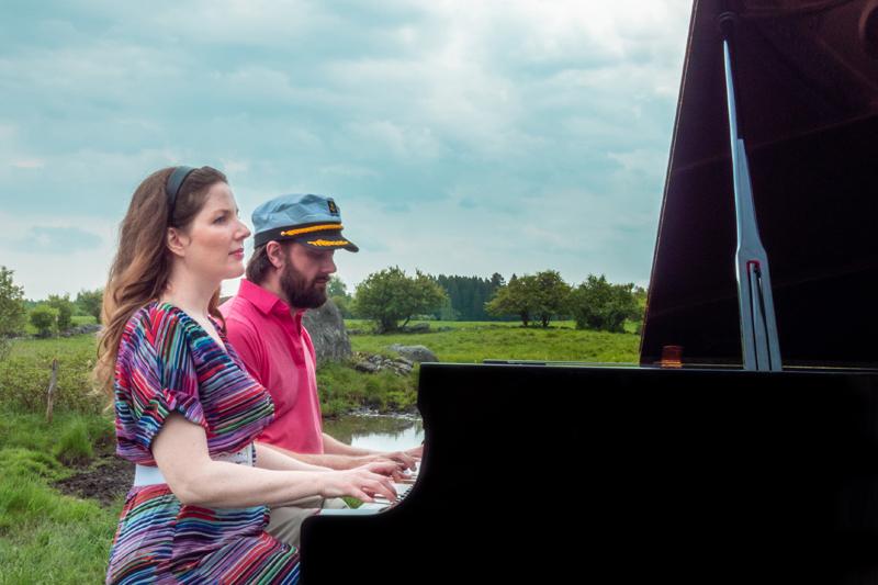 Un piano, la nature… et Alexandra Lost