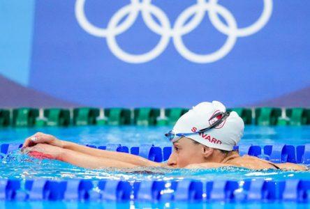 « J'étais plus nerveuse que de nager moi-même ! »,  Katerine Savard