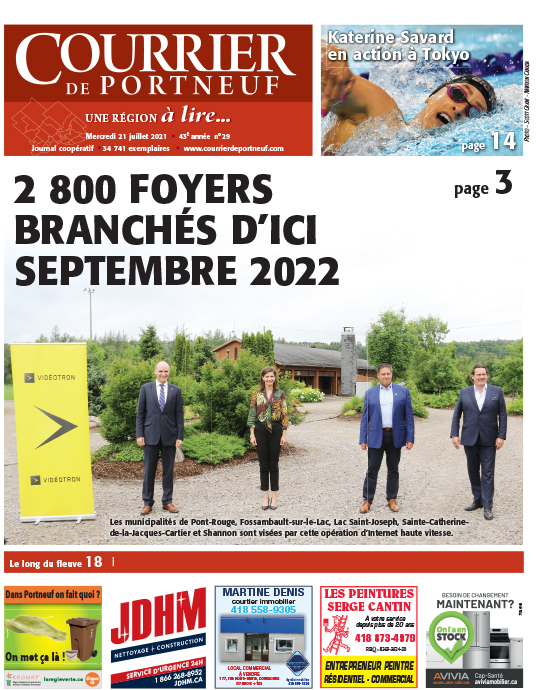 Courrier de Portneuf du 21 juillet 2021