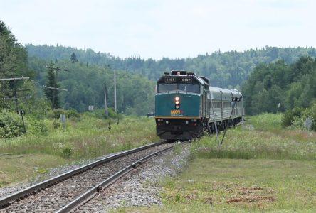 Il faut que le train TGF s'arrête dans Portneuf
