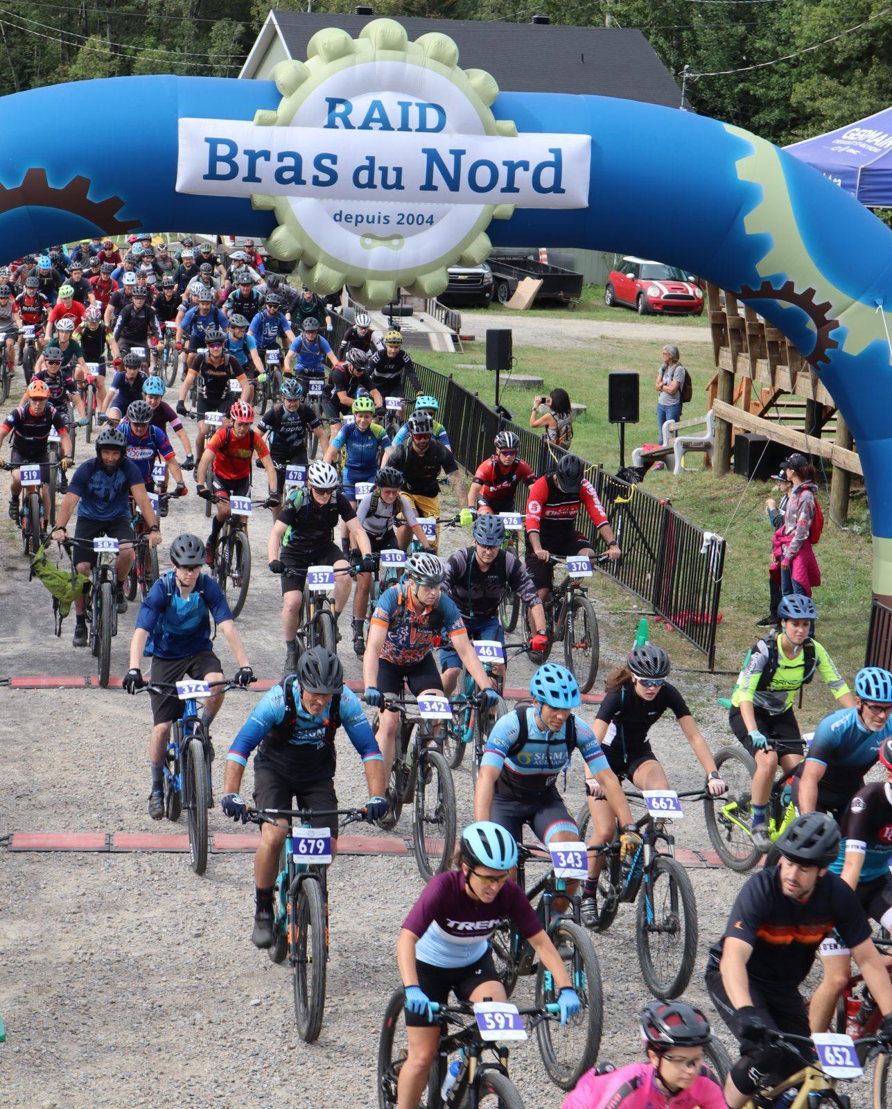 Participation record au Raid Bras du Nord
