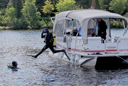 Opération nettoyage à Lac-Sergent