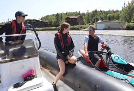 Surveillance des plaisanciers aux lacs Sergent et Sept-Îles