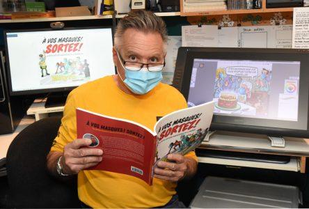 «À vos masques! Sortez!»: Métyvié raconte la pandémie en caricatures