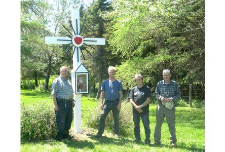 Sauvetage d'une croix de chemin à Deschambault-Grondines