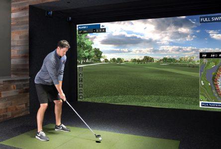 Des simulateurs de golf intérieur à Donnaconna