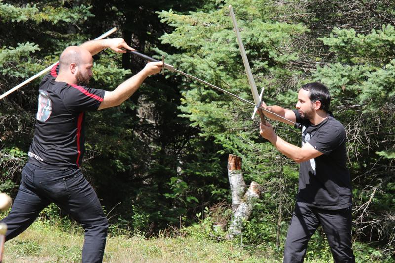 Le combat médiéval, nouvel art martial